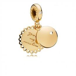 Pandora Jewelry You Are My Sunshine Pendant Charm 767066EN158