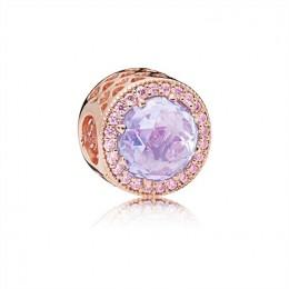 Pandora Jewelry Lavender Radiant Hearts Charm 781725LCZ