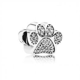 Pandora Jewelry Paw Prints-Clear CZ 791714CZ