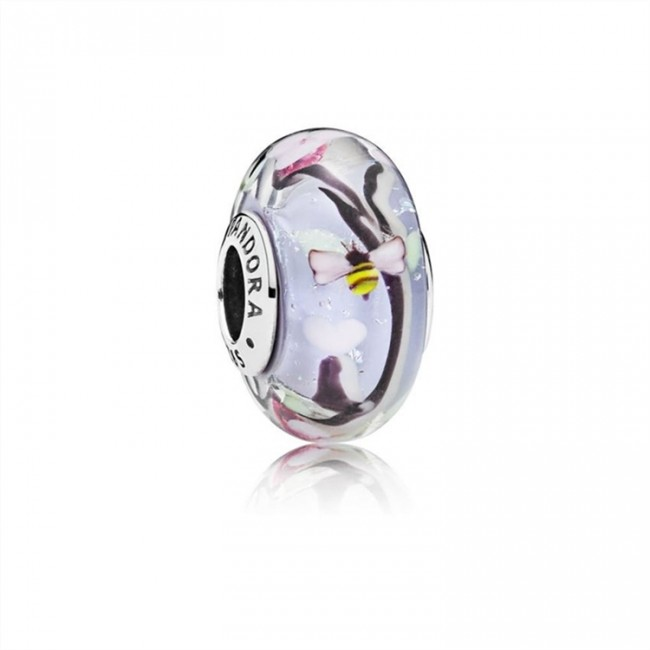 Pandora Jewelry Enchanted Garden Glass Murano Charm 797014