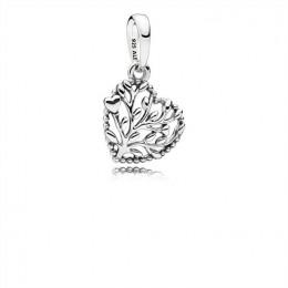 Pandora Jewelry Flourishing Hearts Pendant Charm 797140