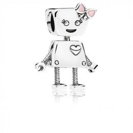 Pandora Jewelry Bella Bot Charm-Pink Enamel 797141EN160