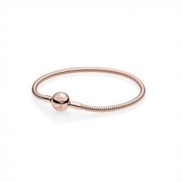 Pandora Jewelry Smooth Rose Clasp Bracelet 580728