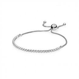 Pandora Jewelry Sparkling Strand Bracelet-Clear CZ 590524CZ