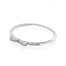Pandora Jewelry Sparkling Bow-Clear CZ 590536CZ