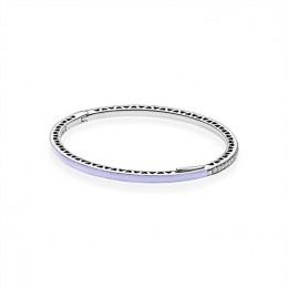 Pandora Jewelry Purple Radiant Hearts of Pandora Jewelry Bangle 590537EN66