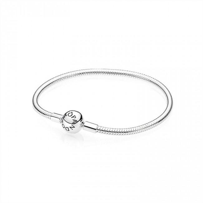 Pandora Jewelry Smooth Silver Clasp Bracelet 590728