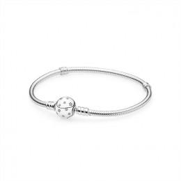 Pandora Jewelry Star silver bracelet with clear cubic zirconia 590735cz