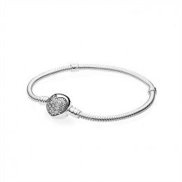 Pandora Jewelry Sparkling Heart Bracelet-Clear CZ 590743CZ