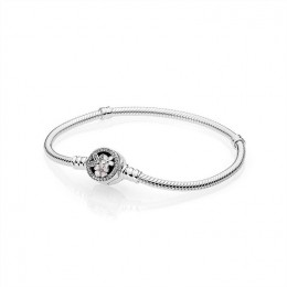 Pandora Jewelry Poetic Blooms Bracelet-Mixed Enamels & Clear CZ 590744CZ