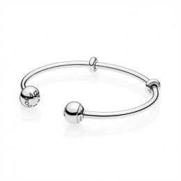 Pandora Jewelry Open Bangle Bracelet 596477