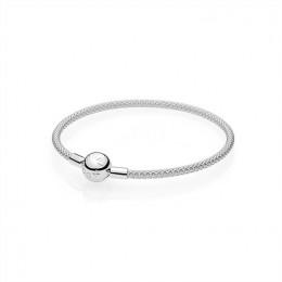 Pandora Jewelry Sterling Silver Mesh Bracelet 596543