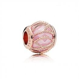 Pandora Jewelry Intertwining Radiance Charm-Pandora Jewelry Rose & Pink CZ 781968PCZ
