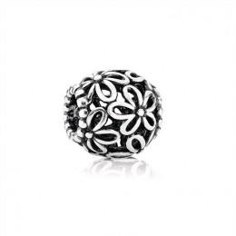 Pandora Jewelry Wildflower Openwork Silver Charm-790890