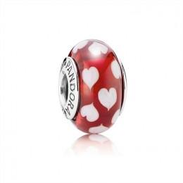Pandora Jewelry Red sweethearts 790948