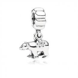 Pandora Jewelry Polar Bear Charm 791029CZ