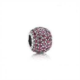Pandora Jewelry Pave Lights Charm-Red CZ 791051CZR