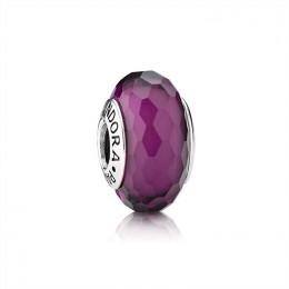 Pandora Jewelry Purple Faceted Murano Charm 791071
