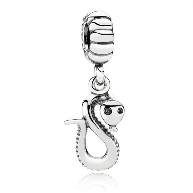 Pandora Jewelry Chinese Zodiac Snake Pendant Charm 791100