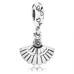 Pandora Jewelry Vintage Fan Dangle Charm 791110