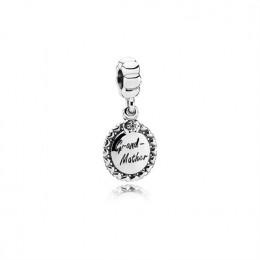 Pandora Jewelry Grandmother Dangle Charm-Clear CZ 791128CZ