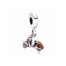 Pandora Jewelry Love Red Scooter Charm 791140EN42
