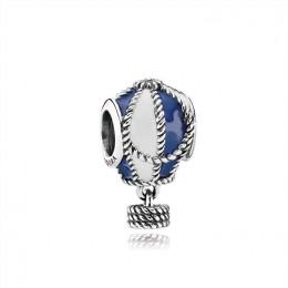 Pandora Jewelry Hot Air Balloon Silver Charm-Pandora Jewelry 791145ENMX