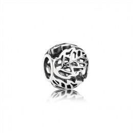 Pandora Jewelry Openwork Leaves Charm 791190