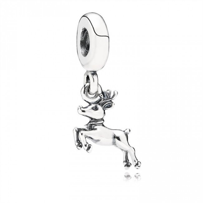 Pandora Jewelry Reindeer Pendant Charm 791194