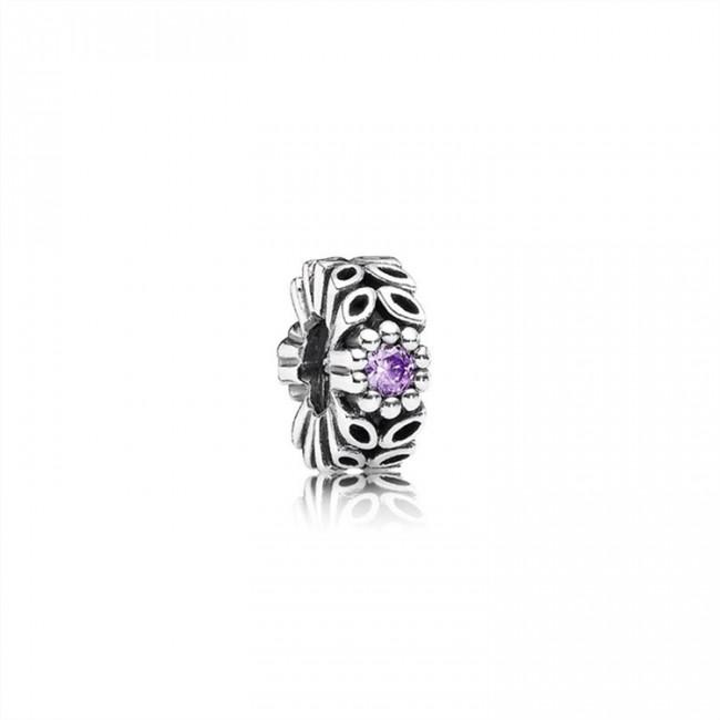 Pandora Jewelry Purple Forest Flower Spacer 791224CFP