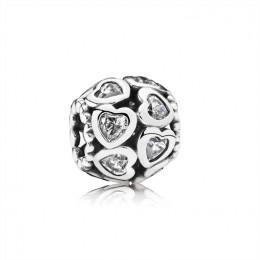 Pandora Jewelry Love All Around Charm-Clear CZ 791250CZ