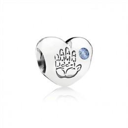 Pandora Jewelry Baby Boy Charm-Blue CZ 791281CZB