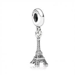 Pandora Jewelry Eiffel Tower Paris Hanging Silver Charm-791082