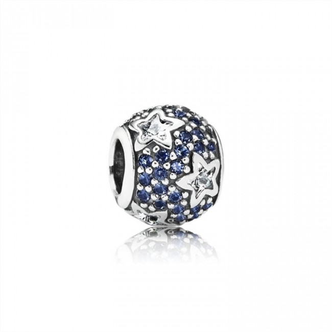 Pandora Jewelry Follow The Stars-Clear CZ & Midnight Blue Crystal 791382CZ