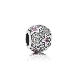 Pandora Jewelry Follow The Stars-Pink & Clear CZ 791382PCZ