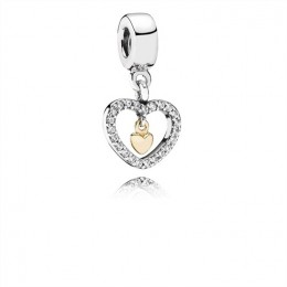 Pandora Jewelry Forever in My Heart-Clear CZ 791421CZ