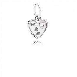 Pandora Jewelry Together Forever Hanging Charm-Pandora Jewelry 791430