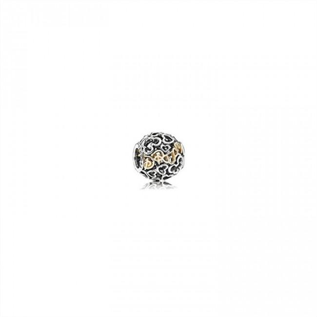 Pandora Jewelry Disney Charm Two Tone Dream 791438