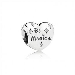 Pandora Jewelry Disney Be Magical Heart Charm 791439CZ
