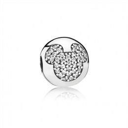 Pandora Jewelry Disney-Mickey Pave Clip 791449CZ