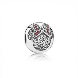 Pandora Jewelry Disney-Minnie Pave Clip 791450CZ