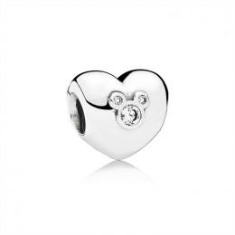 Pandora Jewelry Disney-Heart of Mickey 791453CZ