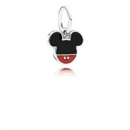 Pandora Jewelry Disney-Mickey Icon Dangle Charm-Mixed Enamel 791461ENMX