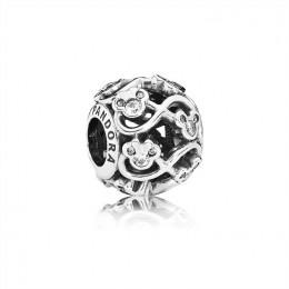 Pandora Jewelry Disney & Mickey Infinity Openwork Charm 791462CZ