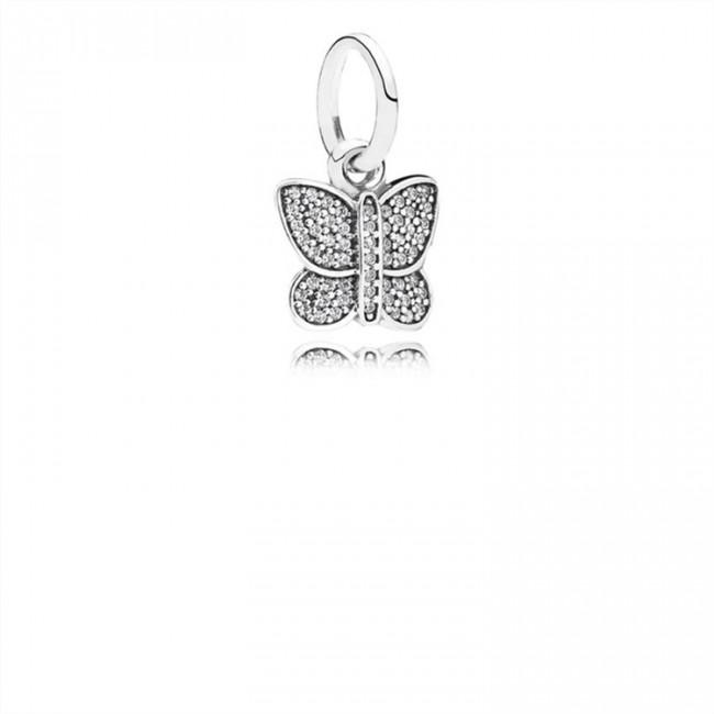 Pandora Jewelry Sparkling Butterfly-Clear CZ 791497CZ