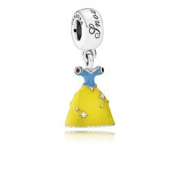 Pandora Jewelry Disney-Snow White's Dress Dangle Charm-Mixed Enamel 791579ENMX