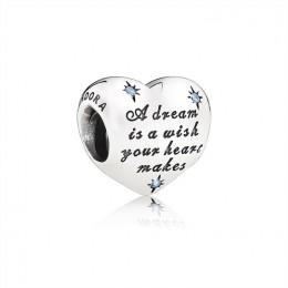 Pandora Jewelry Disney-Cinderella's Dream Charm-Fancy Light Blue CZ 791593CFL