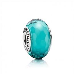 Pandora Jewelry Fascinating Teal Charm-Murano Glass 791606