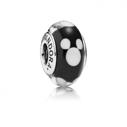 Pandora Jewelry Classic Disney Mickey Murano Glass 791633