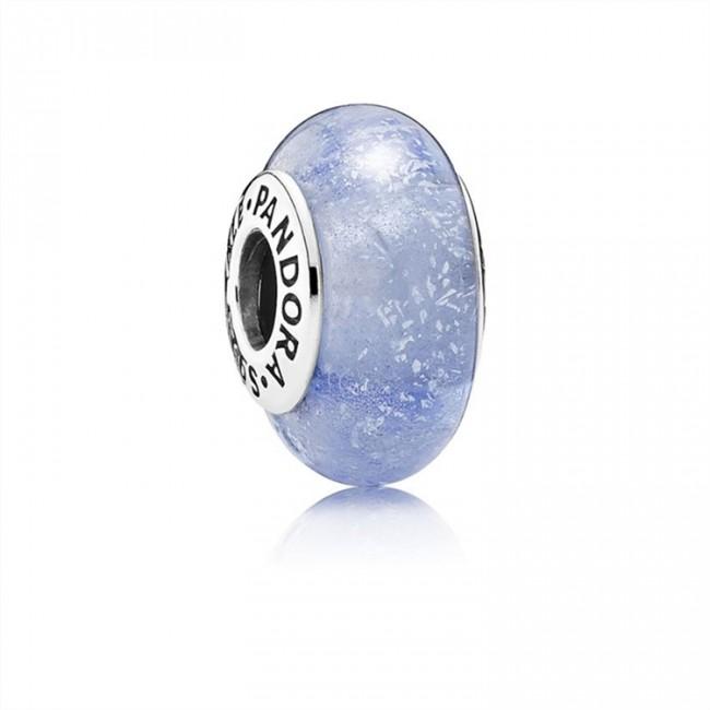 Pandora Jewelry Disney-Cinderella's Signature Color Charm-Murano Glass 791640
